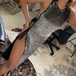 💫 h:ours sexxxxxyyy sequin tunic top/dress 💫